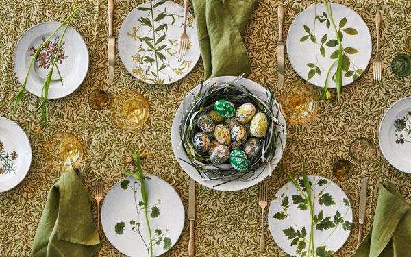 украсить праздничный стол на Пасху
