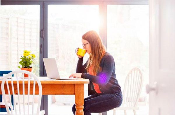 как работать продуктивно дома