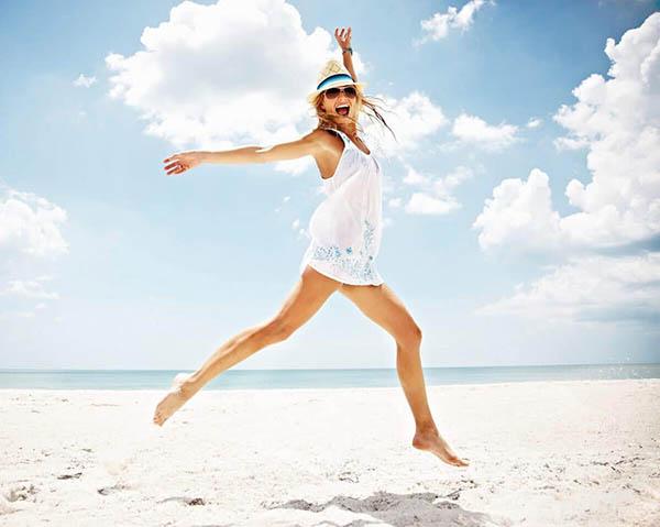 Как получаться хорошо на пляжных фото
