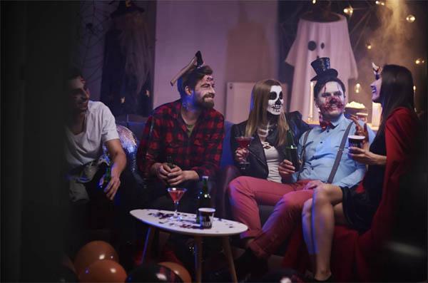 игры и развлечения на Хэллоуин для взрослых