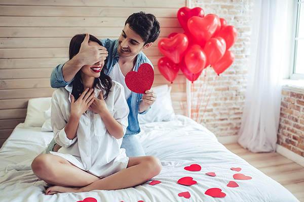 День Валентина для обрученных пар