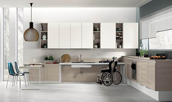 кухни для людей с инвалидностью