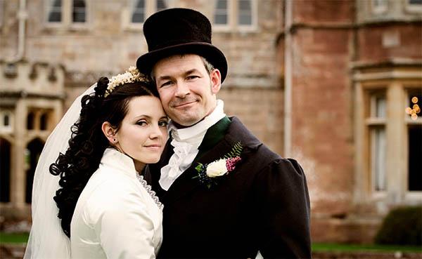 свадьба в викторианском стиле