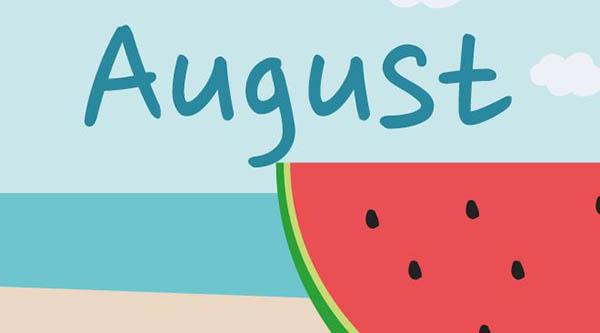 что стоит сделать в августе